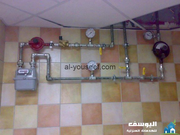 تمديدات خطوط الغاز في الرياض