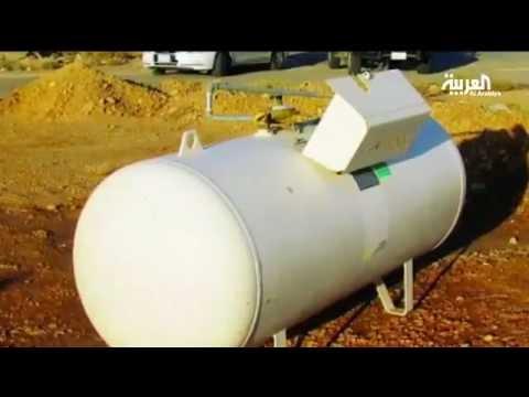 سعودي يرمي خزان غاز بيته في الشارع – الخوف من الغاز