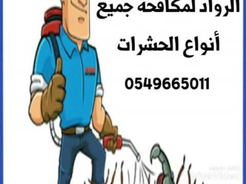 اسعار رش مبيدات بالرياض 0549665011 افضل شركة مكافحة حشرات بالرياض( الرواد )
