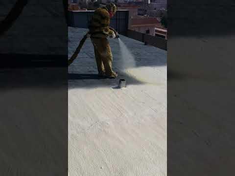 عزل السقف بماده الفوم_أفضل شركة عزل مائي وحراري بالرياض