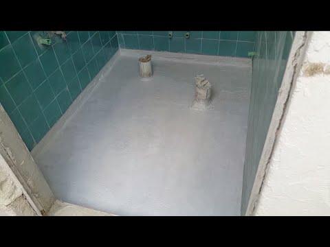عزل دورات المياه